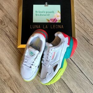 NWT Adidas Falcon Sneakers, EH0319